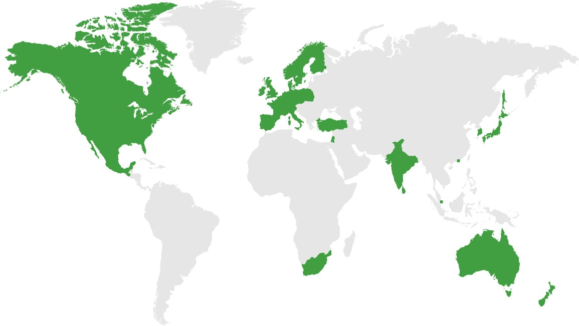 Formedium Worldwide Distribution